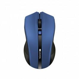 Canyon CNE-CMSW05BL, Wireless optická myš USB,  modrá