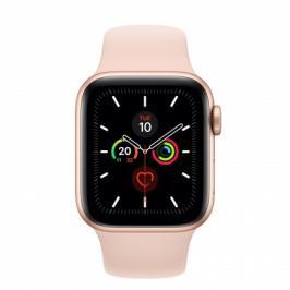 Apple Watch Series 5 GPS, 40mm, zlatá, sportovní řemínek