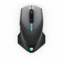 Bezdrátová myš DELL Alienware AW610M, herní, 7 tlačítek, černá