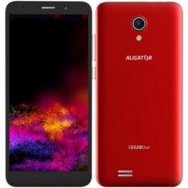 Mobilní telefon ALIGATOR S5520 Duo 1GB/16GB, červený