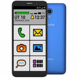 Mobilní telefon ALIGATOR S5520 SENIOR 1GB/16GB, modrý