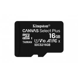 16GBmicroSDHCKingstonCanvasSelect Plus  A1 CL10 100MB/s