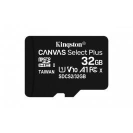 32GB microSDHC Kingston Canvas Select Plus  A1 CL10 100MB/s