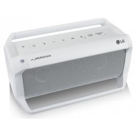 LG PK5W Bluetooth přenosný reproduktor bílý