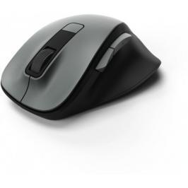 Bezdrátová myš Hama MW 500, tichá, 6 tlačítek, šedá