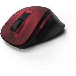 Bezdrátová myš Hama MW 500, tichá, 6 tlačítek, červená