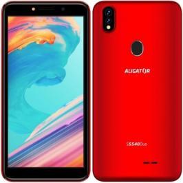Mobilní telefon Aligator S5540 2GB/32GB, červená