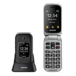 Tlačítkový telefon pro seniory Aligator V650, černá