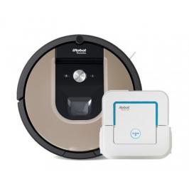 Robotický vysavač iRobot Roomba 976 a mop Braava jet 240
