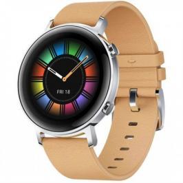 Chytré hodinky Huawei Watch GT2 42mm, hnědá