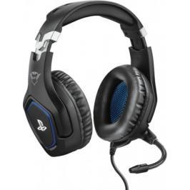 Headset Trust GXT 488 Forze, pro PS4, herní, černá/modrá