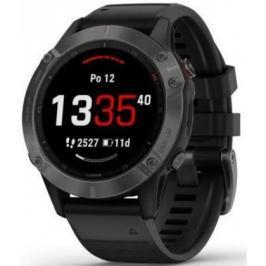 Chytré hodinky Garmin Fenix 6 Pro Sapphire, černá/šedá