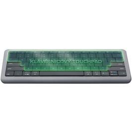 Dotyková klávesnice PRESTIGIO Click&Touch, EN, šedá