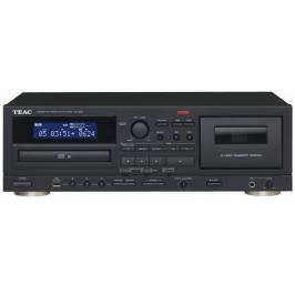 Kazetový magnetofon a CD přehrávač s USB TEAC AD-850, černý