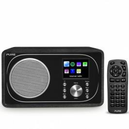 Internetové/DAB+/FM rádio s BT a Spotify, PURE Evoke F3, černé