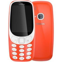 Tlačítkový telefon Nokia 3310 SS, červená