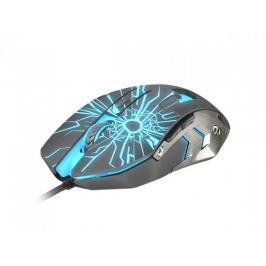 Herní optická myš FURY Gladiator, 3200 dpi, černá