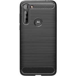 Zadní kryt pro Motorola Moto G8 Power Lite, Carbon, černá
