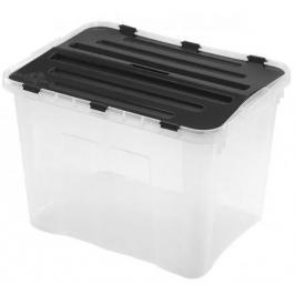 Heidrun HDR1652 Box úložný s víkem, 42l, plast,49x36x34cm