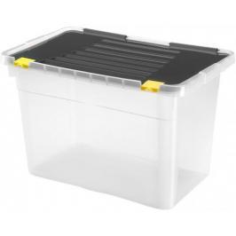 Heidrun HDR656 Box úložný s víkem 54l, plast, 58x36,5x37,5cm