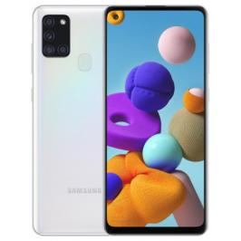 Mobilní telefon Samsung Galaxy A21s 3GB/32GB, bílá