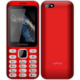Tlačítkový telefon myPhone Maestro, červená