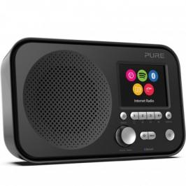 Internetové rádio s BT a Spotify Connect, PURE Elan IR5, černé