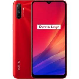 Mobilní telefon Realme C3 3GB/64GB, červená