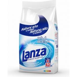 Lanza A000010388 Prací prášek Lanze Fresh&Clean,bílé, 6,3kg
