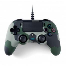 PS4 herní ovladač Nacon Compact Controller - Coloured Camo Green