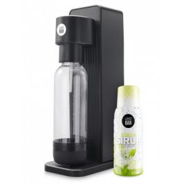 Výrobník sody Limo bar Twin+sirup bezový květ T0150BLA-LBSELDER