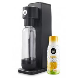 Výrobník sody Limo bar Twin+sirup pomeranč T0150BLA-LBSORANGE