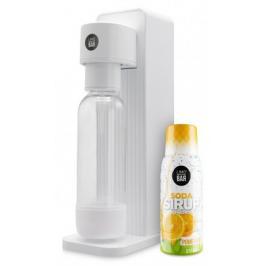 Výrobník sody Limo bar Twin+sirup pomeranč T0150WHI-LBSORANGE