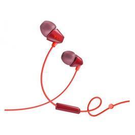 TCL SOCL100OR sluchátka do uší, drátová, mikrofon, oranžová
