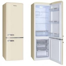Kombinovaná chladnička Amica KGCR 387100 B, A++ ROZBALENO