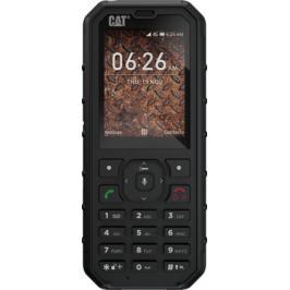 Odolný tlačítkový telefon Caterpillar CAT B35, černá