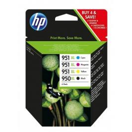 Cartridge HP C2P43AE, 950XL, čtyřbalení, CMYK