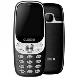 Tlačítkový telefon Cube1 F500, černá