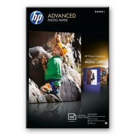 HP Advanced Glossy Photo Paper-100 sht/10 x 15 cm borderless,  25