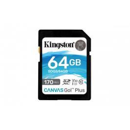 64GB SDXC Kingston U3 V30 170/70MB/s