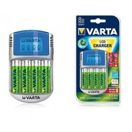 Nabíječka baterií Varta LCD charger 4xAA2600+12V+USB