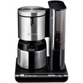 Kávovar Bosch TKA 8653 Styline, nerez/černá