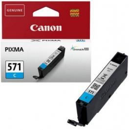 Cartridge Canon CLI-571C, modrá
