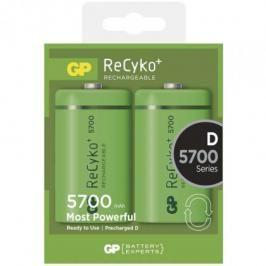 Nabíjecí baterie GP Recyko+ D 5700 mAh 2ks