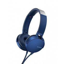 Sony MDR-XB550AP, modrá MDRXB550APL.CE7