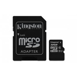 Kingston Micro SDHC Canvas Select 32GB + SD adaptér SDCS/32GB