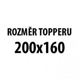 Matracový Topper Visco H5 - 160x200x6