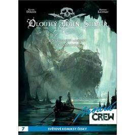 Modrá Crew 7 Dlouhý John Silver 3+4: Smaragdový labyrint, Guyanacapac