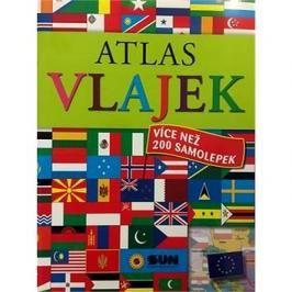 Atlas vlajek: více než 200 samolepek