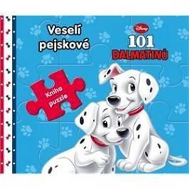 101 dalmatinů Veselí pejskové: Kniha puzzle
